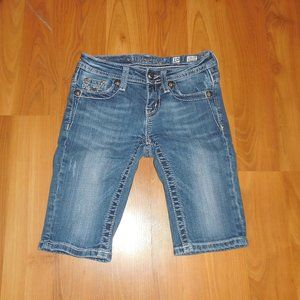 Girls Miss Me Bermuda Jean Shorts 10